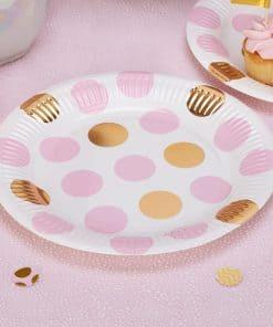 Pattern Works Pink Baby Shower Supplies