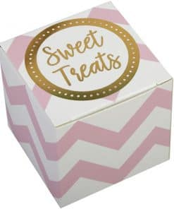 Pattern Works Pink & Gold Favour Boxes