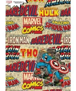 Marvel Avengers Wrapping Paper & Tags