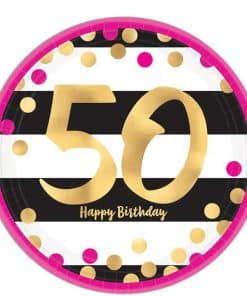 50th Pink & Gold Milestone Party