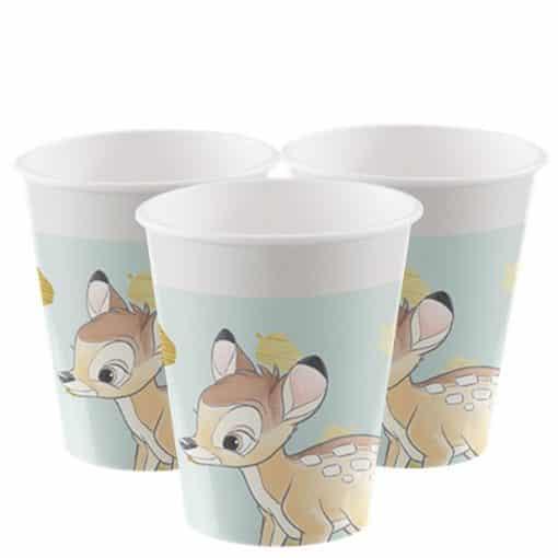 Bambi Party Paper Cups