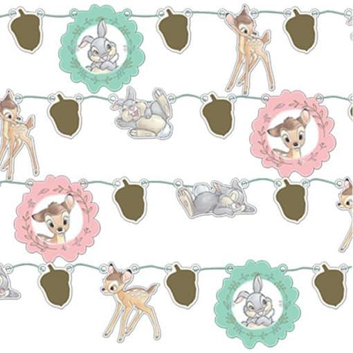 Bambi Party Paper Garland Kit