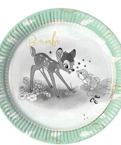 Bambi Party Paper Plates
