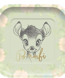 Bambi Party Square Plates