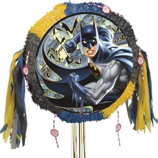 Batman Party Drum Pull Pinata