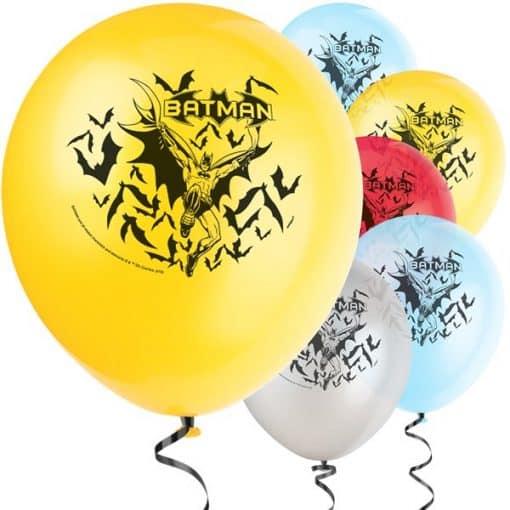 Batman Party Latex Balloons
