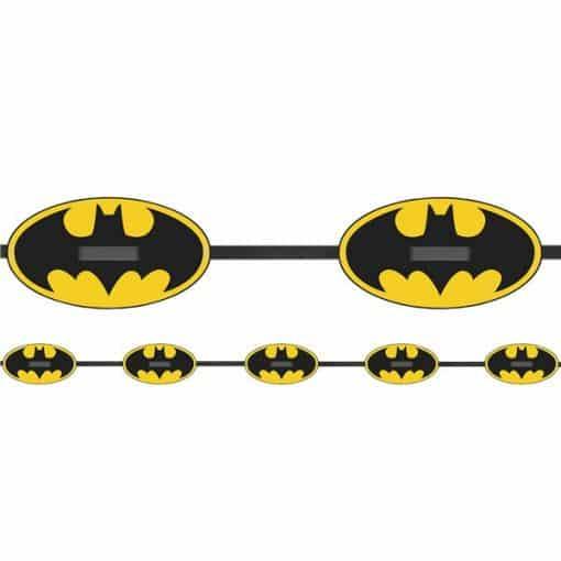 Batman Party Paper Garland