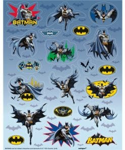 Batman Party Sticker Sheet