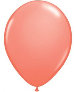 Coral Party Latex Balloons