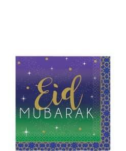 Eid Paper Beverage Napkins