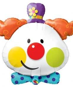 Circus Clown Foil Balloon