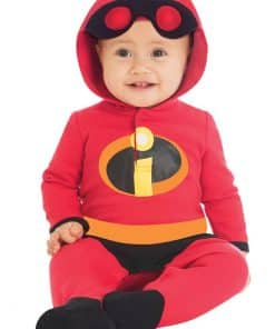The Incredibles Jersey Romper Baby Costume - Age 3 months
