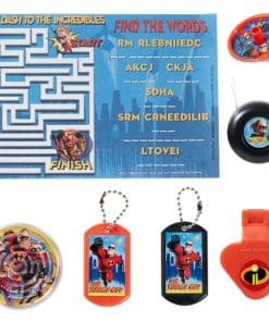 The Incredibles Party Mega Value Favour Pack