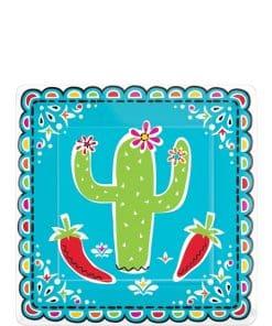 Mexican Fiesta Dessert Plates