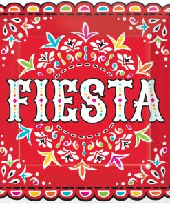 Mexican Fiesta Party Plates
