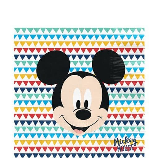 Mickey Awesome Party Paper Napkins