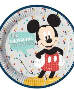 Mickey Awesome Party Paper Plates