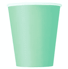 Mint Party Paper Cups