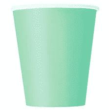 Mint Party Paper Cups