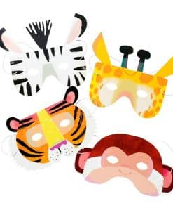 Party Animals Party Paper Masks