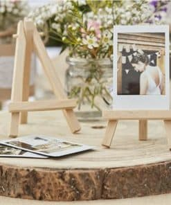 Rustic Country Wedding Mini Wooden Easels