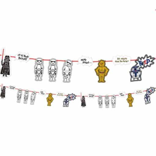 Star Wars Paper Cut Party Garland Kit