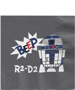 Star Wars Paper Cut Party Paper Napkins