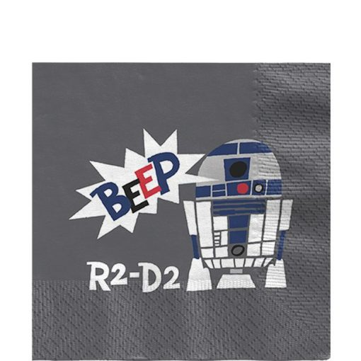 Star Wars Paper Cut Party Paper Napkins