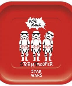 Star Wars Paper Cut Party Paper Square Plates