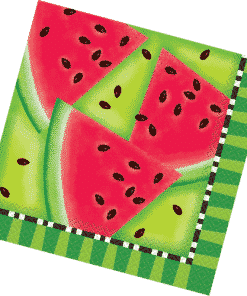 Summer Watermelon Party Paper Napkins