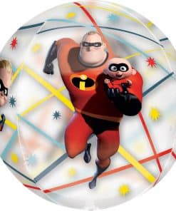 Incredibles 2 Party Clear Orbz Foil Balloon