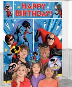 Incredibles 2 Party Scene Setter with Props