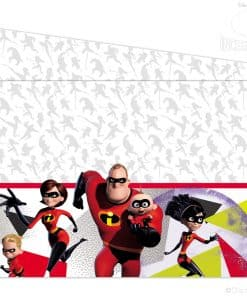 The Incredibles Party Plastic Tablecover