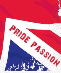 Great Britain 'Pride Passion' Paper Napkins