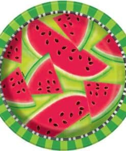 Summer Watermelon Party Paper Plates