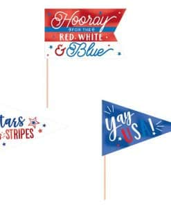 Celebrate USA Mini Flag Pennants