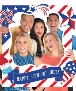 4th of July Giant Customisable Selfie Frame