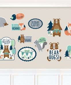 Bear-ly Wait Baby Shower Cut-Outs