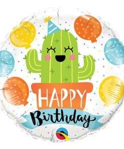 Birthday Party Cactus Balloon