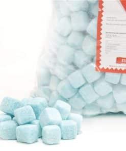 Blue Raspberry Cubes Bulk Bag