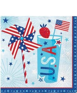 Celebrate USA Party Paper Napkins