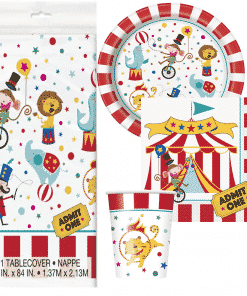 Circus Carnival Party Value Party Pack for 8