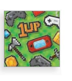 Gaming Party Paper Beverage Napkins