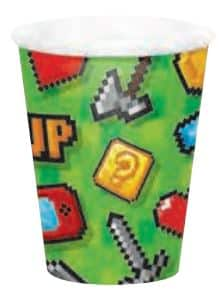 Gaming Party Paper Cups