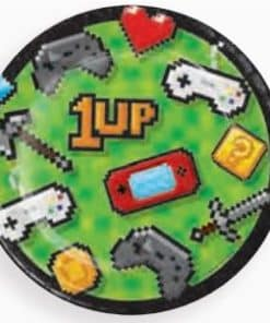 Gaming Party Paper Dessert Plates