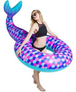 Giant Inflatable Mermaid Tail Pool Float