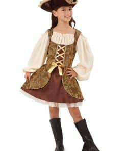 Golden Pirates Dress Child Costume
