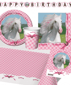 Heart My Horse Deluxe Party Pack For 8