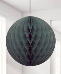 Black Honeycomb Ball Decoration