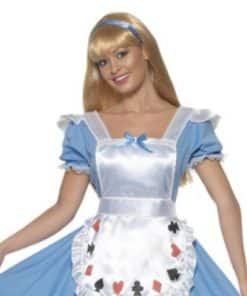 Ladies Alice in Wonderland themed costumes